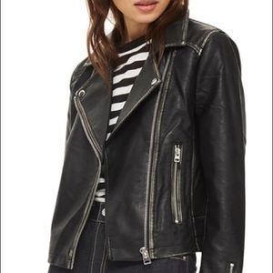 Brand New Topshop Leather Jacket